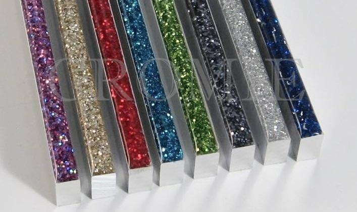 Decori in metallo profili mosaici e piastrelle in alluminio per
