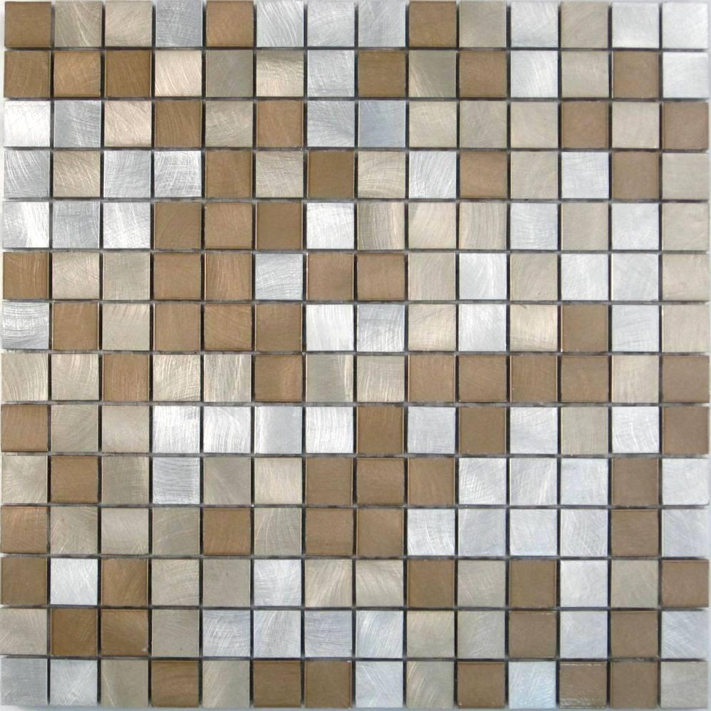 Decori in metallo profili mosaici e piastrelle in - Mattonelle mosaico bagno ...